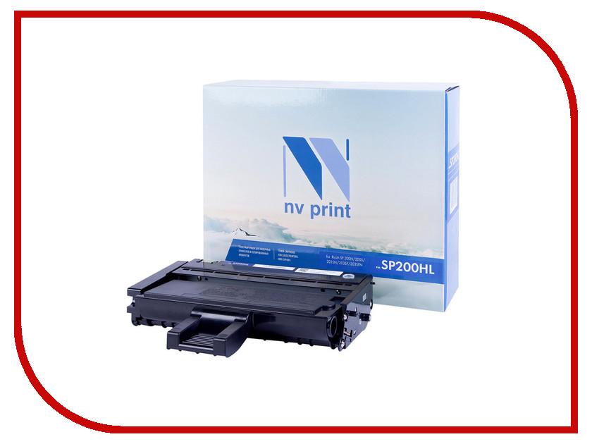 цена на Картридж NV Print NV-SP200HL для SP-200N/200S/202SN/203SF/203SFN 1500k