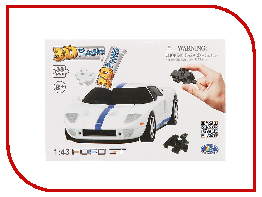 3D-пазл Happy Well Ford GT 3D Puzzle Non Assemble 57124