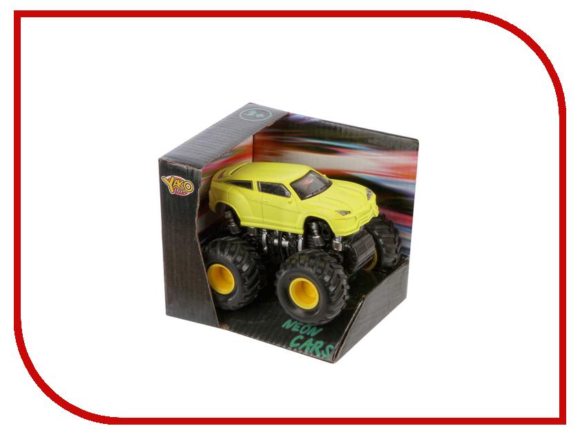 Машина Shantou Daxiang NEON 47792 Yellow машина shantou daxiang трасса 47779