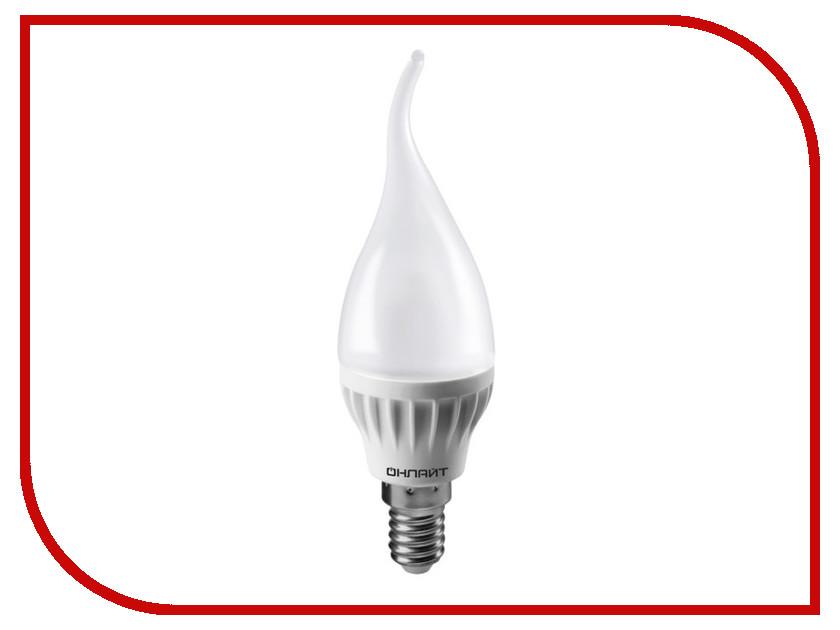 Лампочка ОнЛайт 71 620 OLL-FC37-6-230-2.7K-E14-FR лампочка онлайт 71 645 oll g45 6 230 2 7k e27