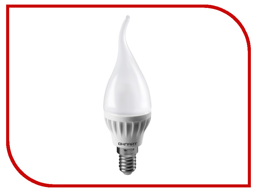Лампочка ОнЛайт 71 621 OLL-FC37-6-230-4K-E14-FR лампочка онлайт 71 644 oll g45 6 230 4k e14