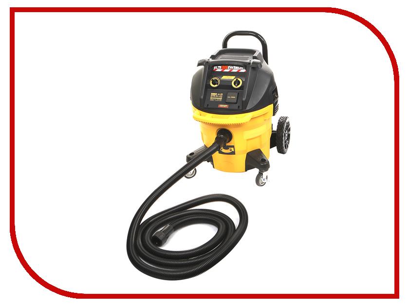Пылесос DeWalt DWV902L промышленный пылесос dewalt dwv 901 l сухая уборка чёрный жёлтый