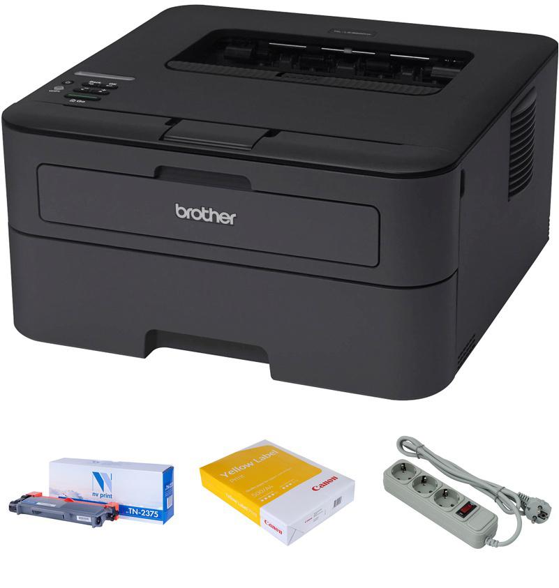 Принтер Brother HL-L2340DWR1 Выгодный набор + серт. 200Р!!!