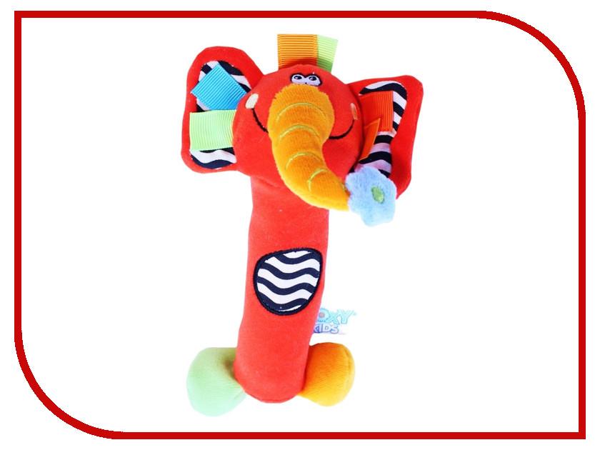 Игрушка Roxy-Kids Слоненок Сквикер RBT20014 roxy kids roxy kids развивающая игрушка котенок минкси