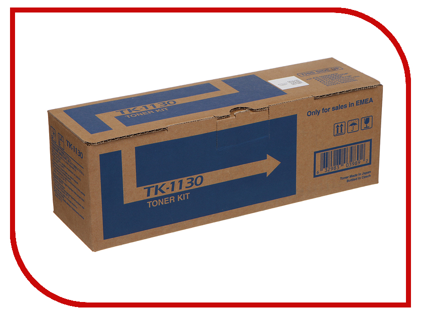 Картридж Kyocera TK-1130 для FS-1030MFP/FS-1030DP/FS-1130MFP/ECOSYS M2030dn/ECOSYS M2530dn