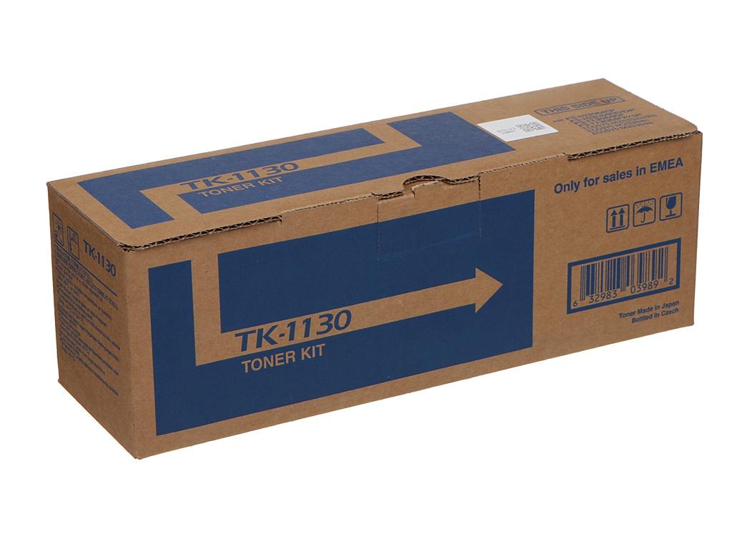 Картридж Kyocera TK-1130 для FS-1030MFP/FS-1030DP/FS-1130MFP/ECOSYS M2030dn/ECOSYS M2530dn мфу kyocera ecosys m2235dn