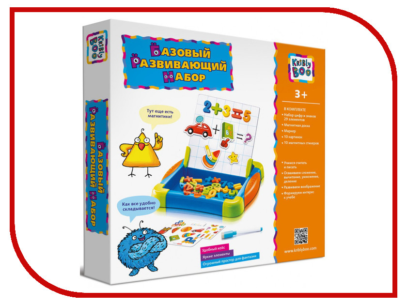 Игрушка Kribly Boo Развивающий набор, базовый 63980<br>