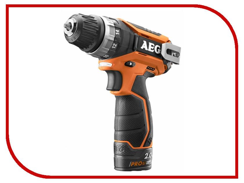 цена на Электроинструмент AEG BS 12C2 Li-202C 447867