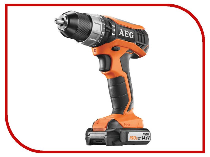 Электроинструмент AEG BSB 14G3 Li-202C 451532 aeg hg600vk