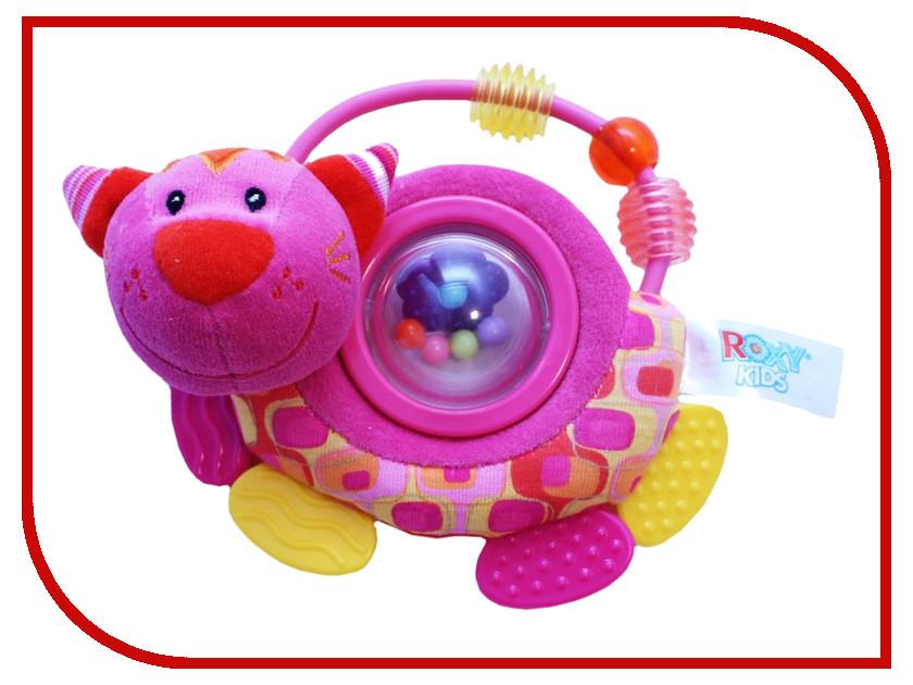 Погремушка Roxy-Kids Котенок Минкси RBT10079 roxy kids roxy kids развивающая игрушка котенок минкси