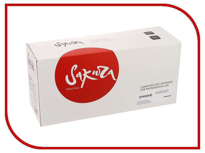 Картридж Sakura SASP4500HE Black для Ricoh Aficio SP4510DN/SP4510SF 12000к<br>