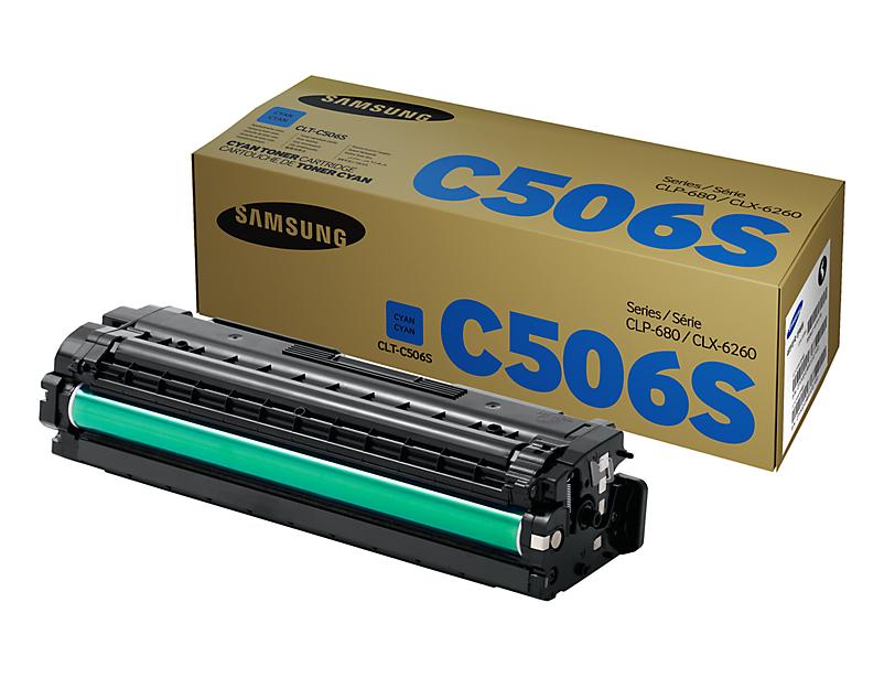 Картридж Samsung CLT-C506S Cyan