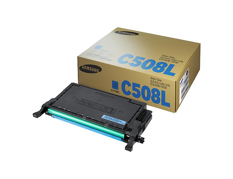 Картридж Samsung CLT-C508L Cyan