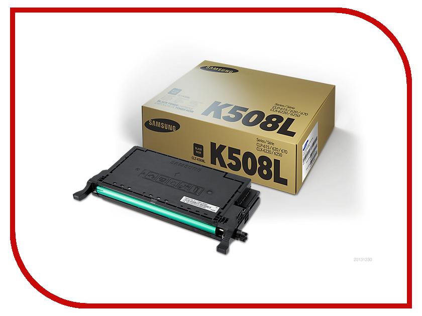 Картридж Samsung CLT-K508L/SEE Black для CLP-670ND