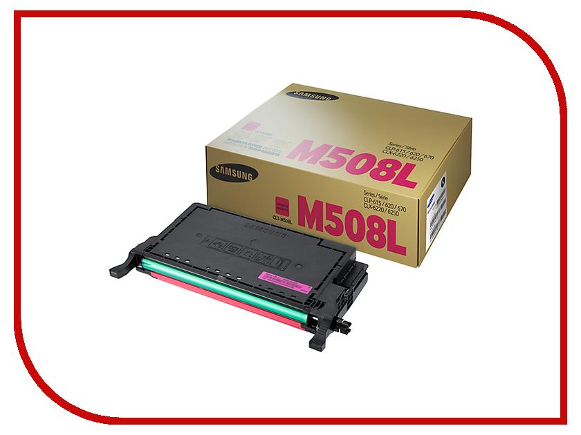 Картридж Samsung CLT-M508L/SEE Purple для CLP-670ND картридж samsung clt c504s see голубой