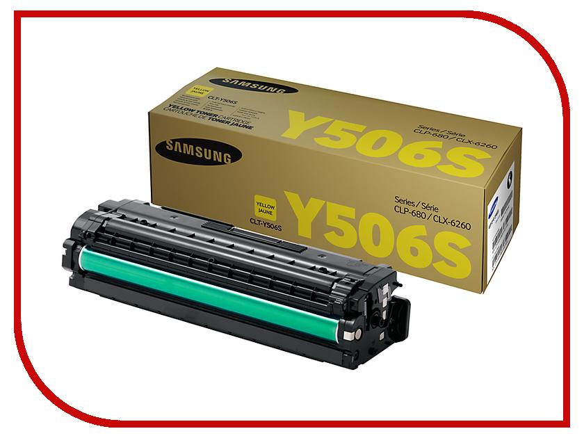 Картридж Samsung CLT-Y506S/SEE Yellow для CLP-680/CLX-6260 картридж samsung clt c504s see голубой