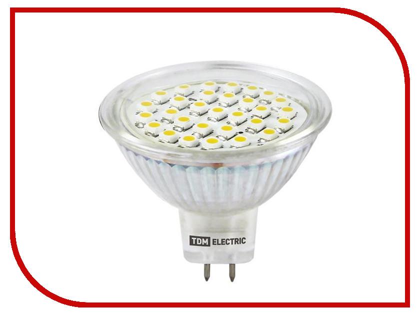 купить Лампочка TDM-Electric MR16 GU5.3 SMD 5W 220V 3000K SQ0340-0023 недорого