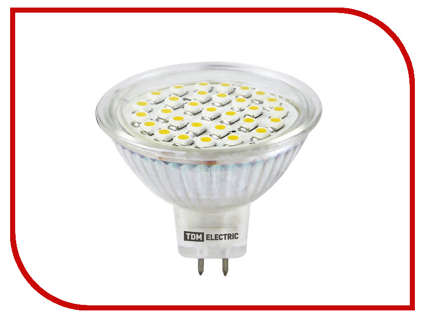 Лампочка TDM-Electric MR16 GU5.3 SMD 3W 220V 4000K SQ0340-0021 tdm electric у05в sq 1303 0021