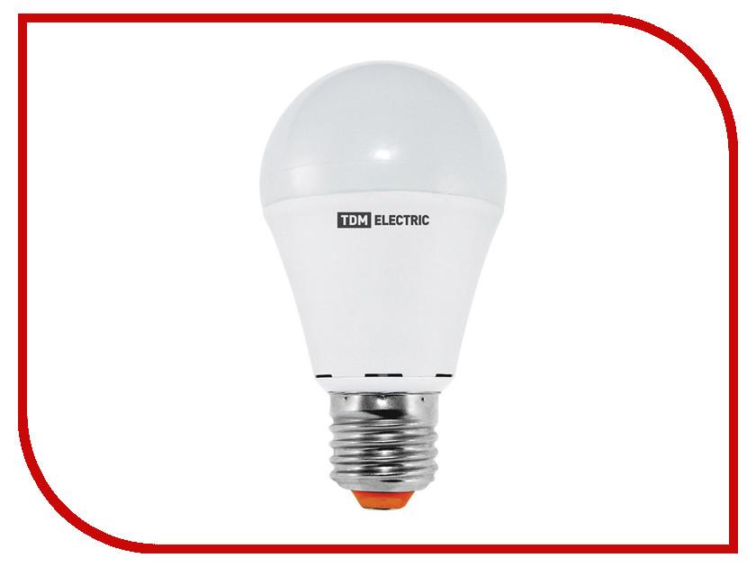 Лампочка TDM-Electric A60 E27 12W 220V 3000K SQ0340-0084 лампочка dialog led a60 e27 12w 3000k