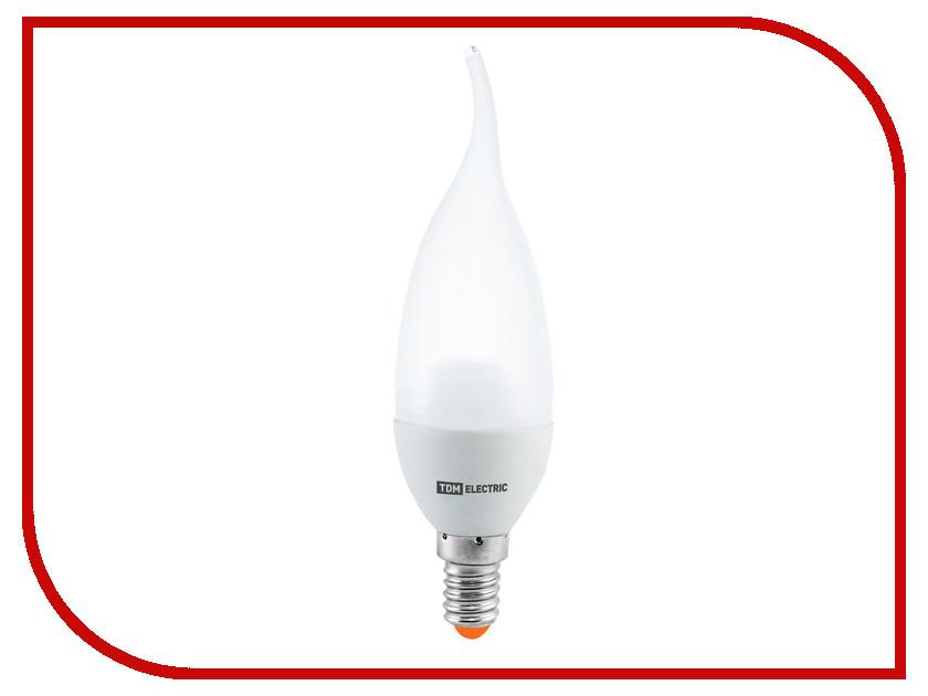 Лампочка TDM-Electric WFC37 E14 5W 220V 3000K SQ0340-0015 лампочка tdm electric r39 4w e14 220v 3000k