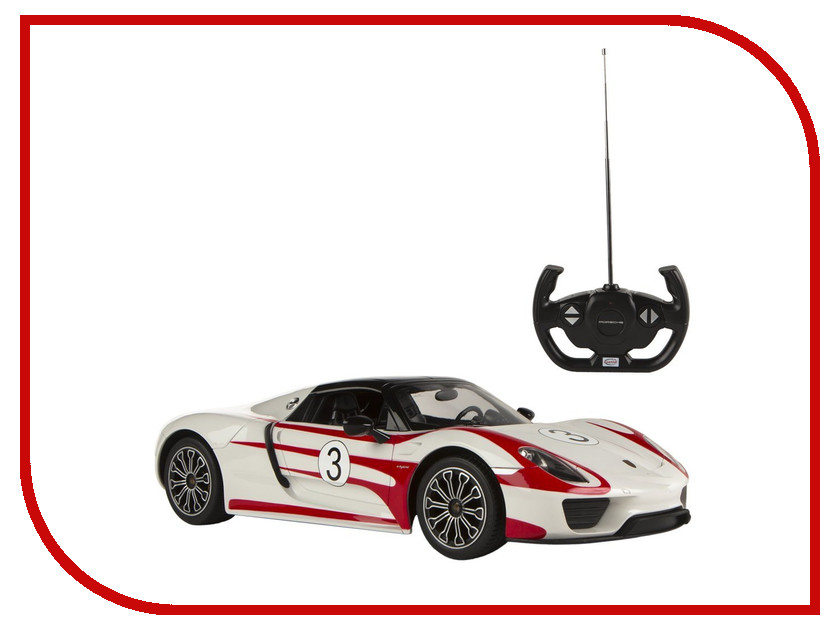 Игрушка Rastar Porshe 918 Spyder Performance 1:14 70710 радиоуправляемая игрушка rastar porshe 918 spyder 1 24 71400