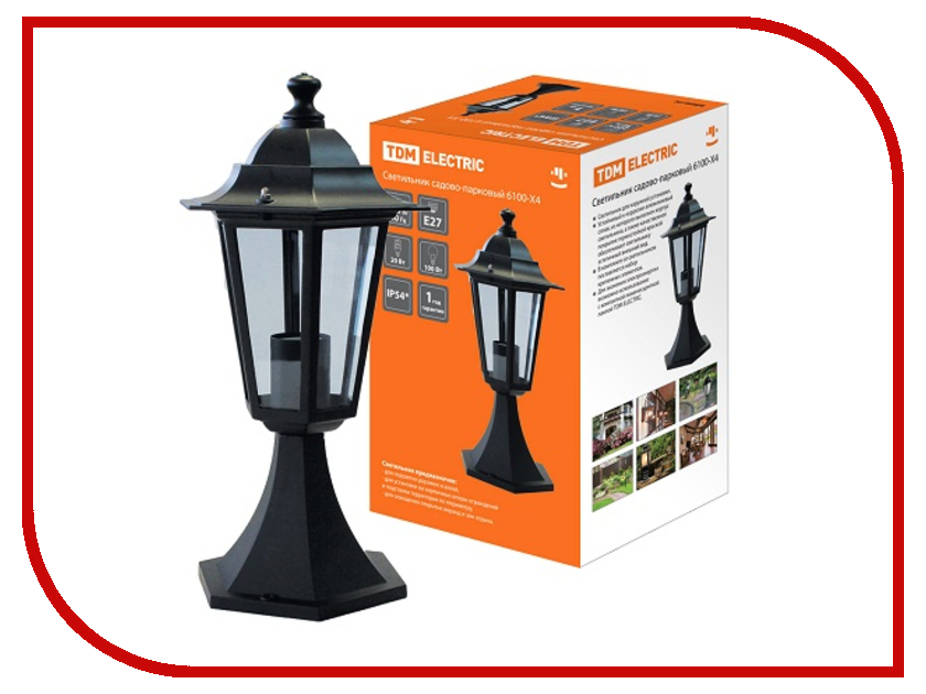 Светильник TDM-Electric 6100-04 SQ0330-0009 сигнальная лампа зеленая tdm лс 47 led ac dc sq0214 0009