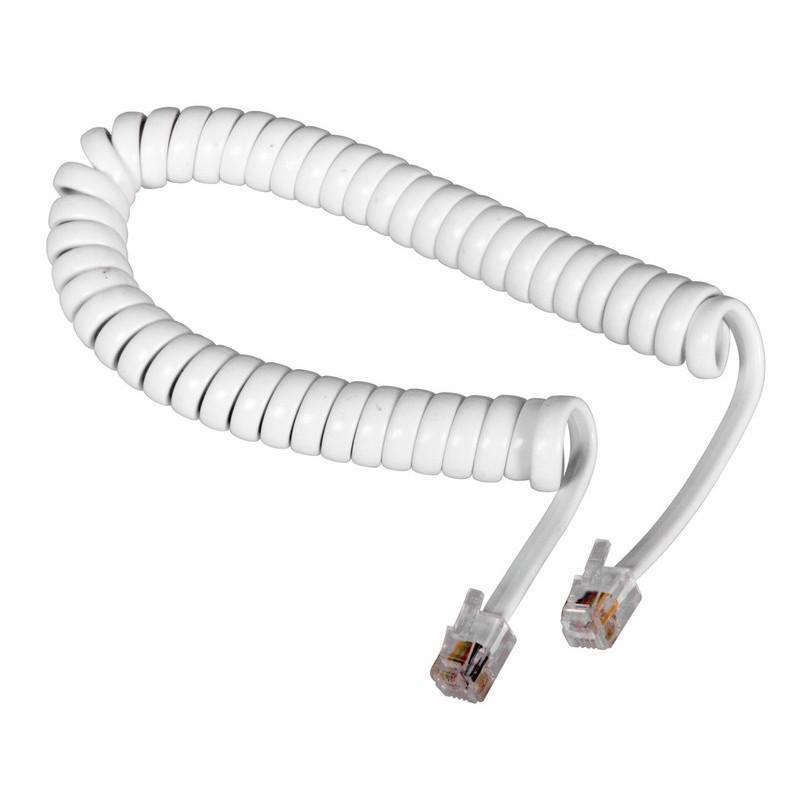 Сетевой кабель Rexant RJ-10 4P4C 2m White 18-2021