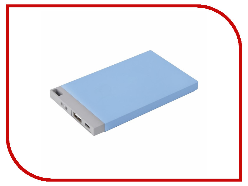 Аккумулятор ProConnect Power Bank 4000mAh Light Blue 30-0500-3