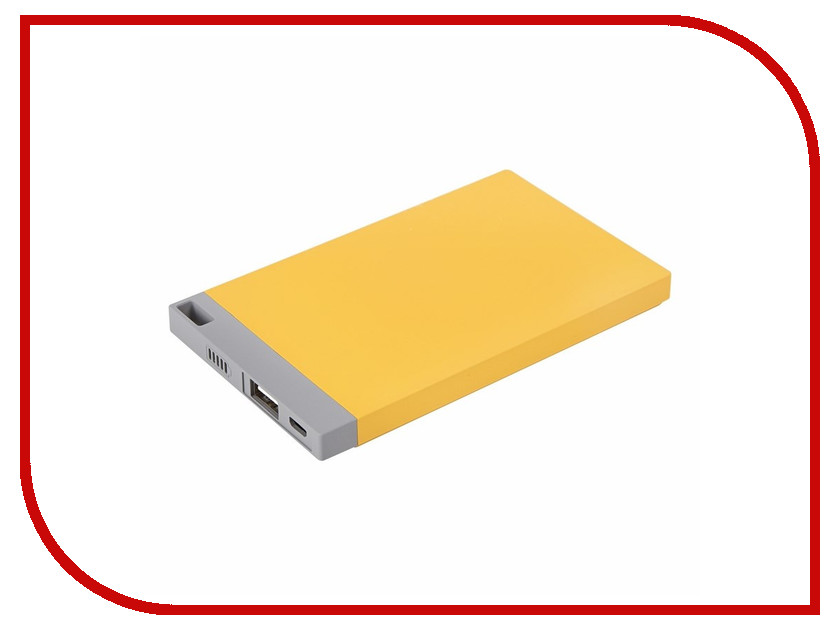 Аккумулятор ProConnect Power Bank 4000mAh Yellow 30-0500-2