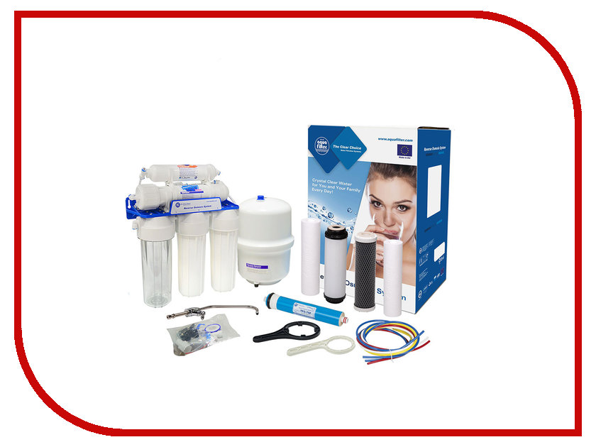 Фильтр для воды Aquafilter RX-RO5-AQM75 RX55139415