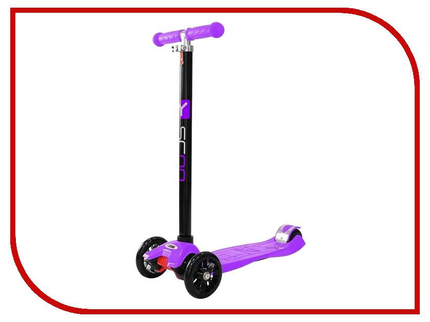 Самокат Y-SCOO maxi Simple A-20 Violet самокат y scoo mini simple a 5 green с цветными колесами