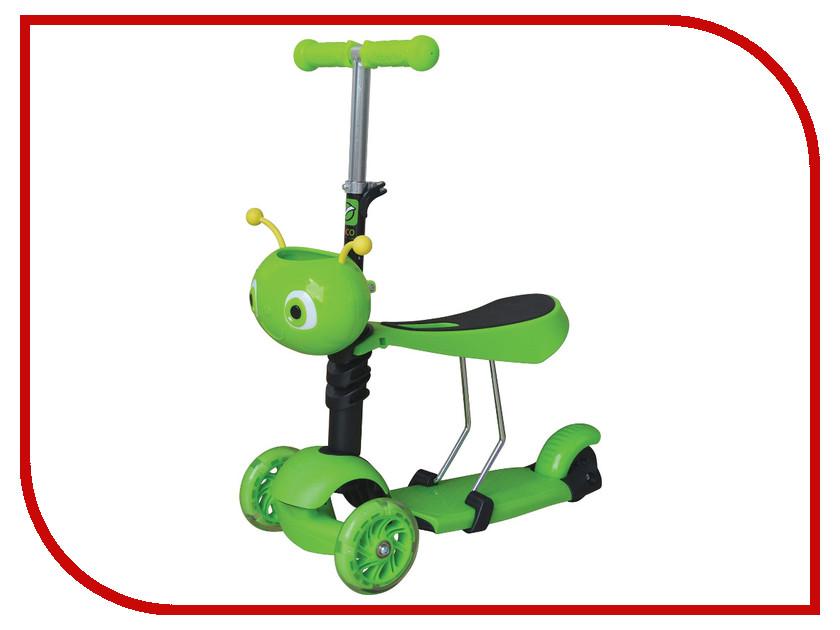 Самокат Novatrack Disco-Kids Green 120S.DISCOKIDS.GN7