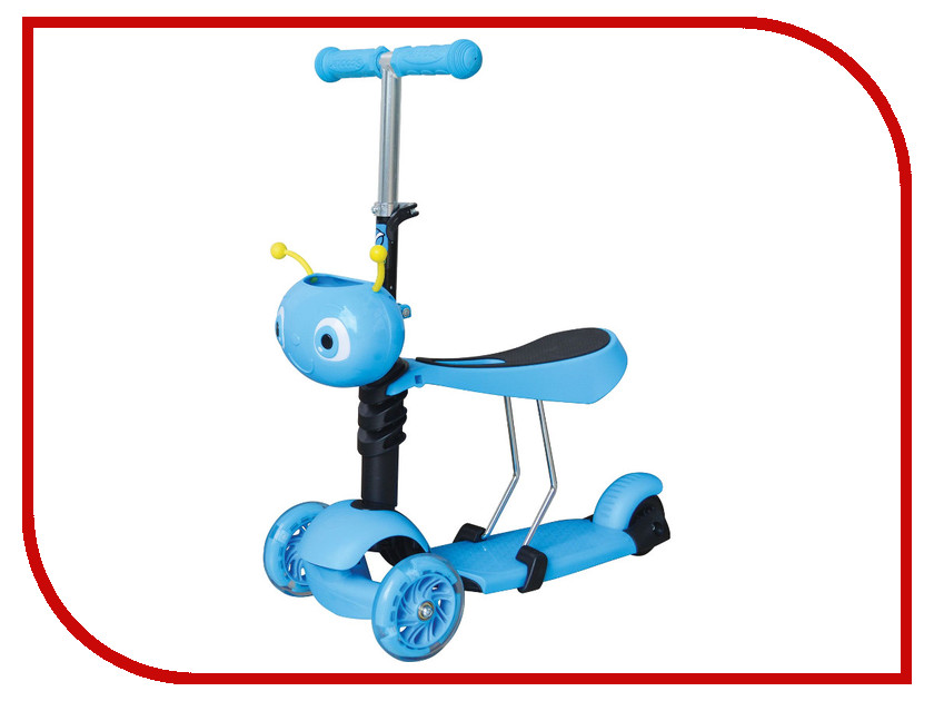 цена на Самокат Novatrack Disco-Kids Light Blue 120S.DISCOKIDS.BL7