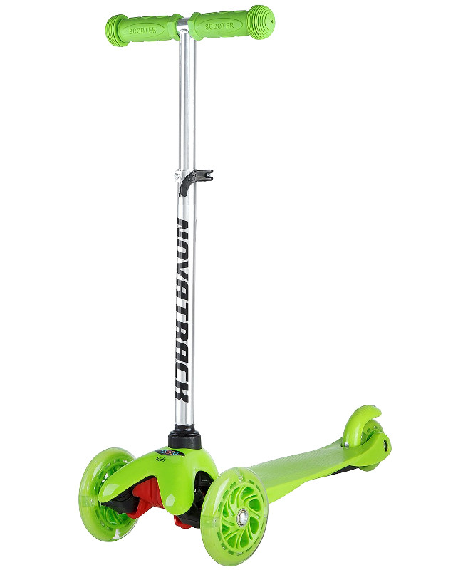 Самокат Novatrack Disco-Kids Green 120H.DISCOKIDS.GN7