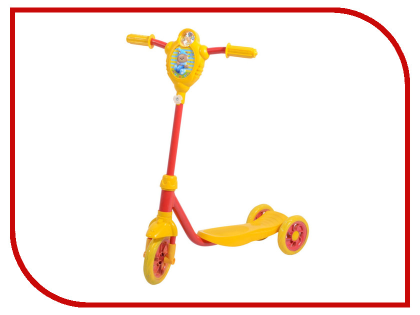Самокат Foxx Baby Yellow-Red 115BABY.YRD7