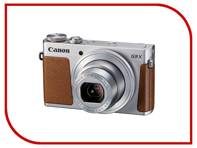 Фотоаппарат Canon PowerShot G9 X Mark II Silver original ijoy saber 20700 vw mod with 100w max output