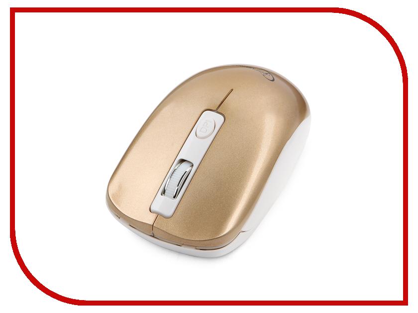 Мышь беспроводная Gembird MUSW-400-G Gold