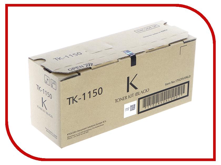 Картридж Kyocera TK-1150 Black для M2135dn/M2635dn/M2735dw/P2235dn/P2235dw kyocera tk 540k black