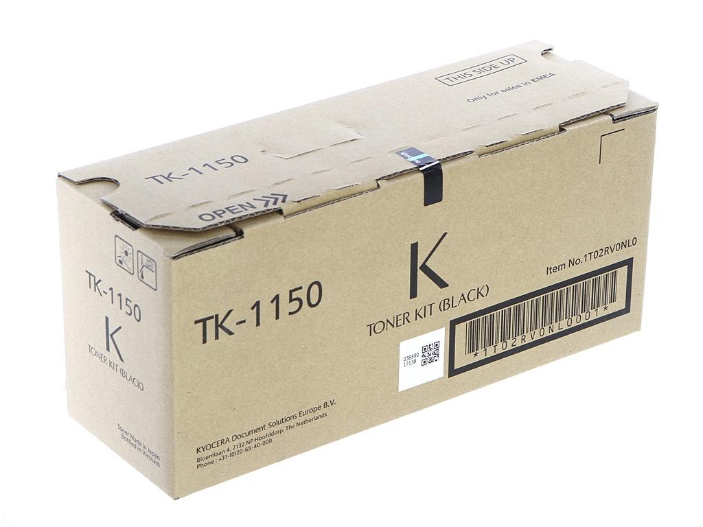 Картридж Kyocera TK-1150 Black для M2135dn/M2635dn/M2735dw/P2235dn/P2235dw