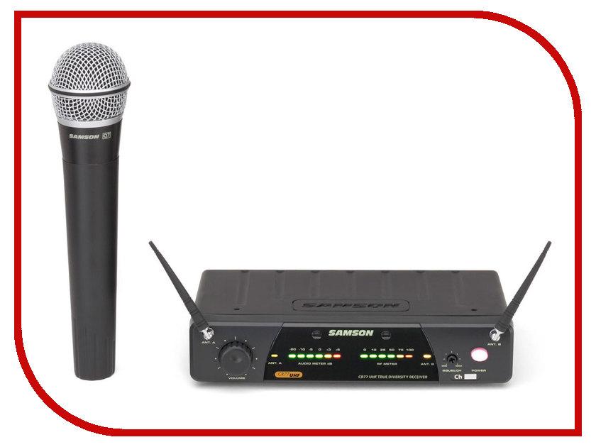 Радиосистема Samson Concert 77 Handheld w/Q7 E2 рэковый шкаф и кейс samson srk16