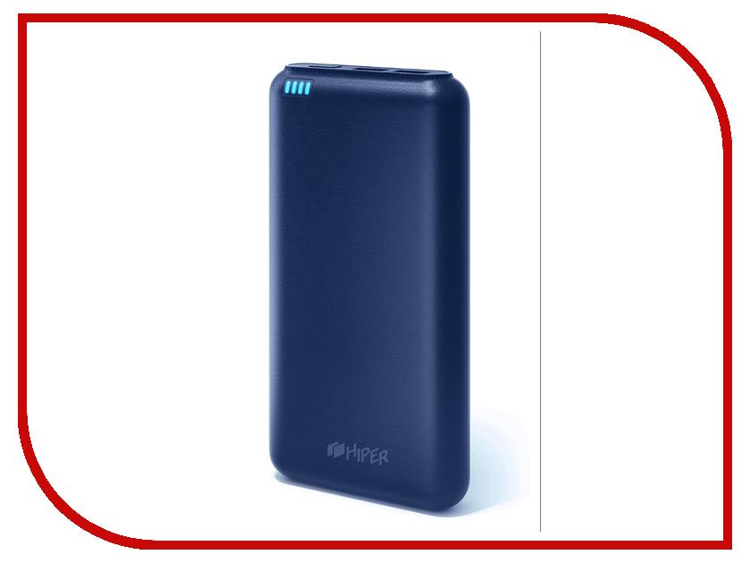 Аккумулятор HIPER Power Bank SP20000 20000mAh Indigo внешний аккумулятор hiper sp20000 20000mah черный
