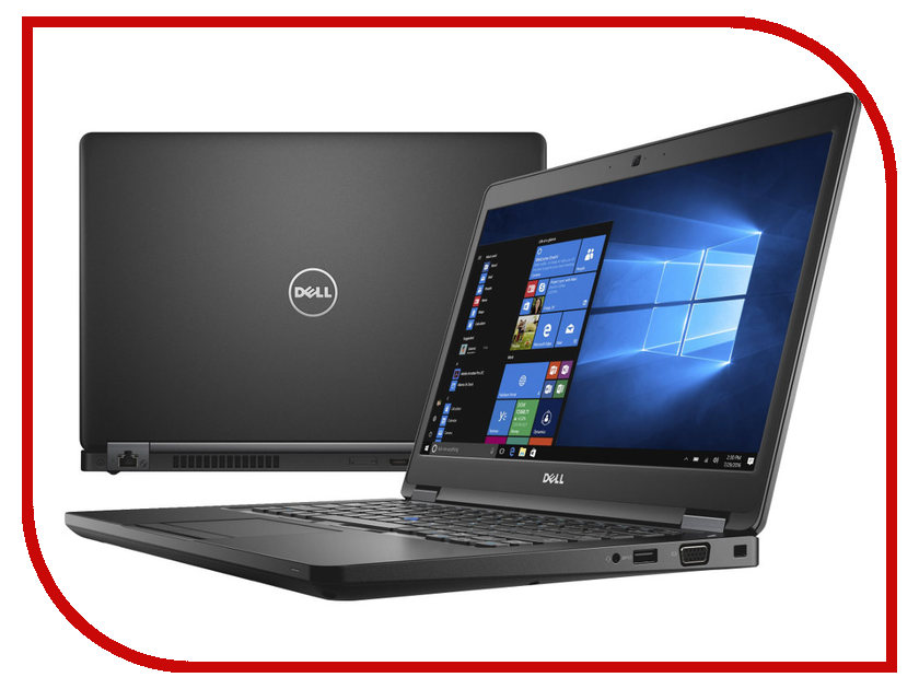 Ноутбук Dell Latitude 5480 5480-9170 (Intel Core i5-7200U 2.5 GHz/8192Mb/256Gb SSD/No ODD/Intel HD Graphics/Wi-Fi/Bluetooth/Cam/14.0/1920x1080/Windows 10 64-bit)<br>