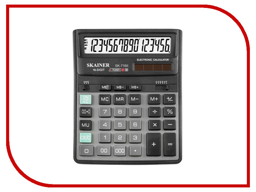 Калькулятор Skainer SK-716II калькулятор skainer sk 110ii