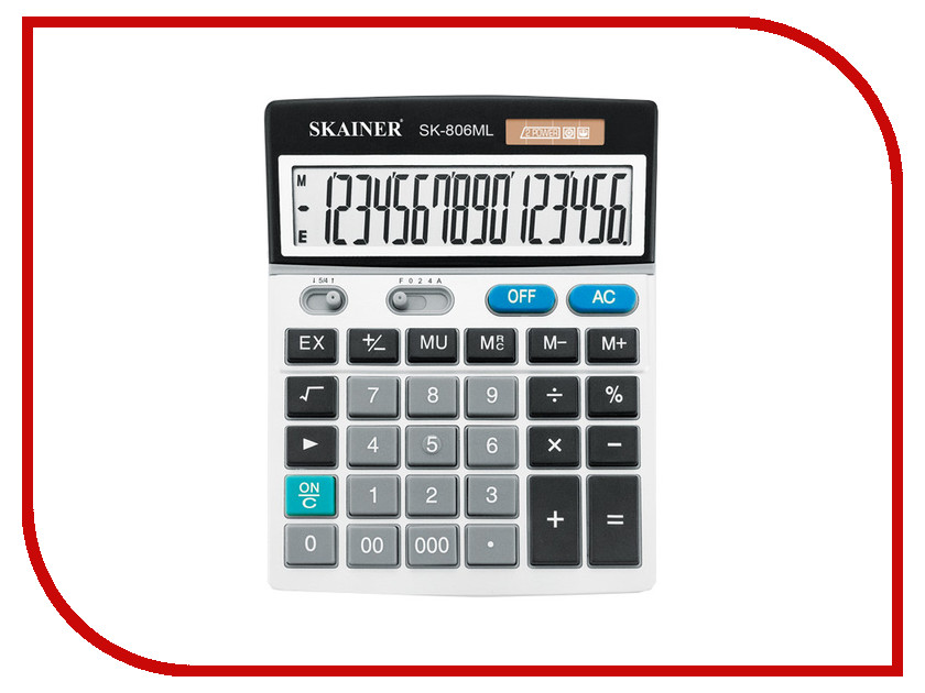 Калькулятор Skainer SK-806ML калькулятор skainer sk 110ii