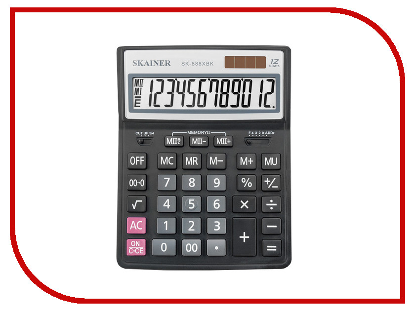 Калькулятор Skainer SK-888XBK калькулятор skainer sk 110ii