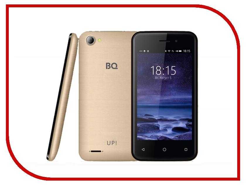 Сотовый телефон BQ 4026 UP Gold<br>