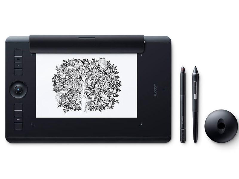 Графический планшет Wacom Intuos Pro Paper Medium PTH-660P-R все цены