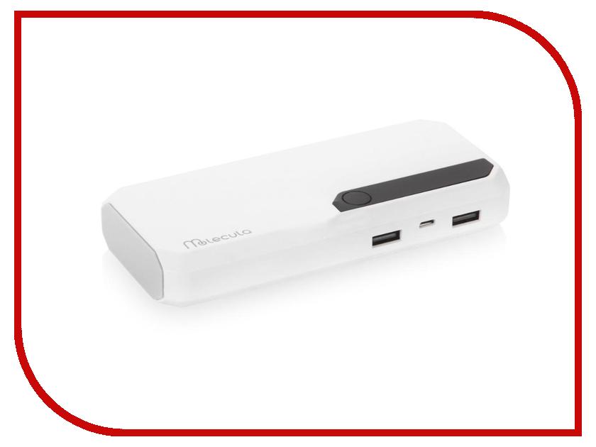 все цены на  Аккумулятор Molecula PB-10-03 10000mAh White  онлайн