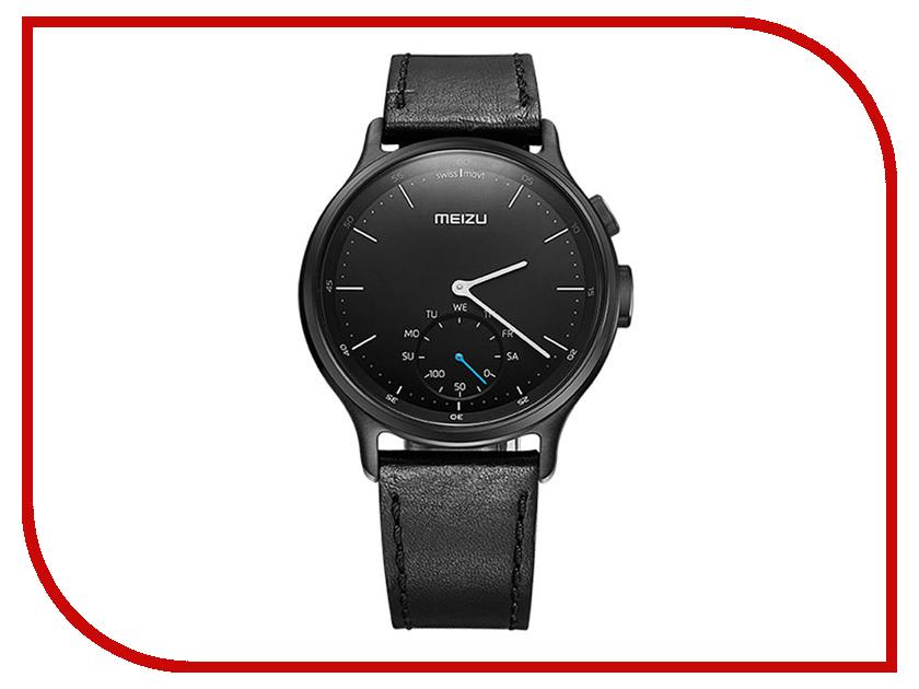 Умные часы Meizu Mix R20 Leather Black MZU-MZWA1S-L-BK