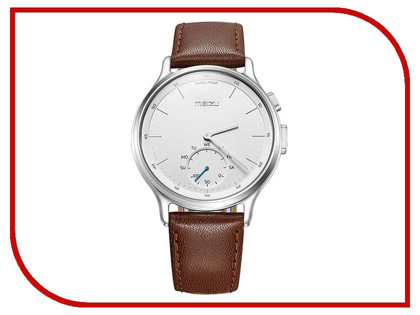 Умные часы Meizu Mix R20 Leather Silver MZU-MZWA1S-L-SL